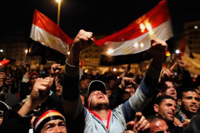 Egyptian revolution rebooted