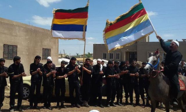 Druze militia targeted by both Assad and ISIS