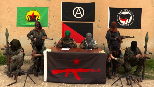 Hawks fear anarchist haven in Syria
